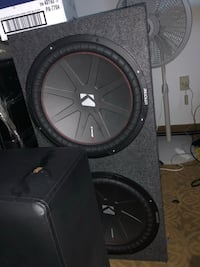 black Kicker subwoofer with enclosure Fort Washington, 20744