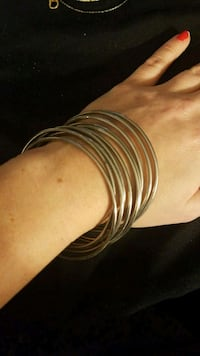 Silver stacking bracelets  McLean, 22102