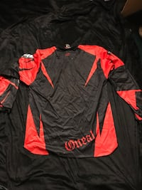 O'NEAL RACING riding jersey large Black&red