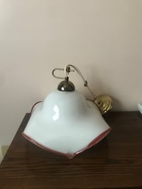 Glass ceiling lamp