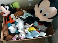 assorted animal plush toy collection Mississauga, L5L 5P9