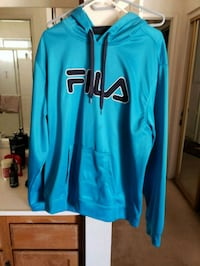 blue and black Nike pullover hoodie Sparks, 89434