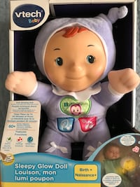 Glow doll for babies Dorval, H9S 3G7