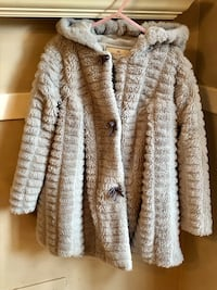 Girls coat with hood (size 6) Mission, 66202