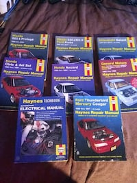 Auto Repair Manuals -  $ 8.00 each