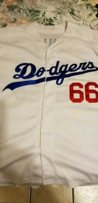 white and blue Los Angeles Dodgers jersey El Paso, 79936