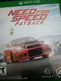 """Xbox one """"Need for speed payback"""" Dayton, 45449"""