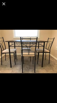 Dinning set with 4 chairs and 1 table  Severn, 21144
