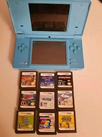DS with 9 games plus charger