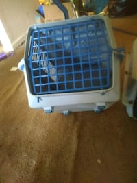 white and blue pet carrier Corpus Christi