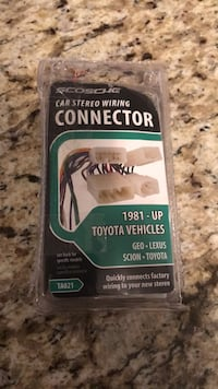 CAR STEREO CONNECTOR TOYOTA