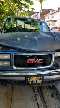 blue GMC Sierra pickup truck Pittsburgh, 15211