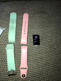 Fitbit 2 with bands and charger