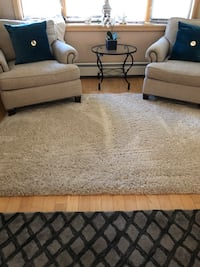 Thomasville Shag Rug Excellent Condition purchased at Costco for 150 plus tax less than 1 year ago