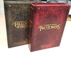LORD OF THE RINGS Fellowship and two towers