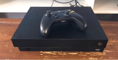 Xbox One X W/ Two Controllers and 15 Games