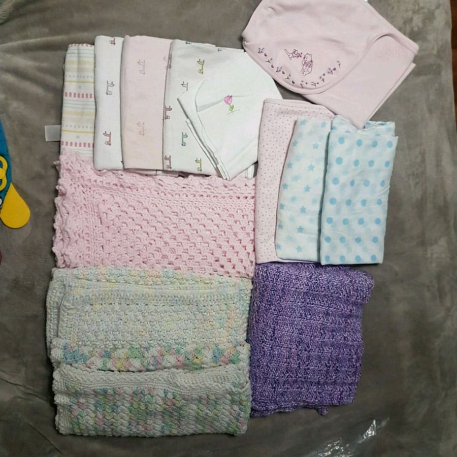 Baby recieving blankets and blankets