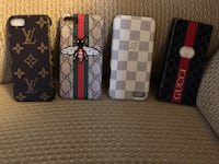 two black and white leather wallets Rockville, 20852