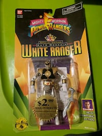 Used Special Edition Auto Morphing White Ranger For Sale