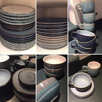 Denby Plates - Blue Jetty - Over 50 items***!!!