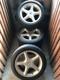 "15"" TSW Performance Rims / NOT really good Tires Oakville"