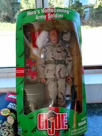 G.I Joe Army Soldier toy figure box North Bend, 97459