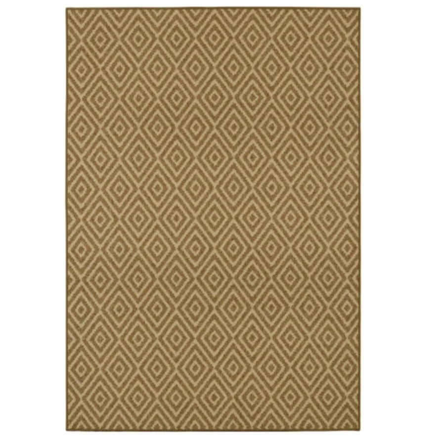 Diamond print Mohawk area rug - 5' x 7'