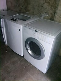 white front-load clothes washer Atlanta, 30354