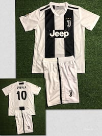 Juventus # 10 Dybala  Soccer uniform jersey & short . New Miami, 33187