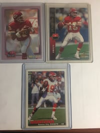 Joe Montana HOF $8 for all three cards Thornton