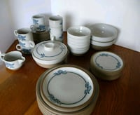 Midwinter Blue Print 53 pc Dish set Beaverton, 97007