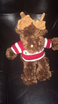 Moose with holiday jacket Bowie, 20715