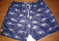 TOMMY BAHAMA SWIM TRUNKS, XL Manteca