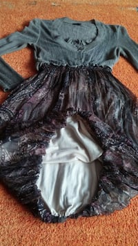 Damen Kleid Lageloock Ballon Design Gr.S in Bunt von More by sister´s Elsfleth