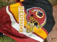 Official NFL license authentic leather Redskin Coat size Large thanks Rockville, 20851