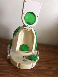 white and green Fisher-Price potty trainer Toronto, M9V 3A8