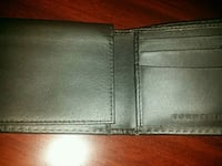 black leather bi-fold wallet Toronto, M2L 1V4