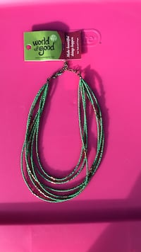NEW. Green Beaded Necklace Winchester, 22603