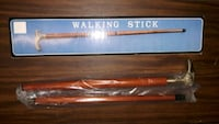 Walking Stick with solid brass eagle head Parkville, 21234