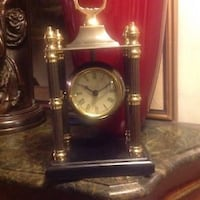 BOMBAY CADOGAN COLUMN CLOCK WITH FENNAL AND ORIGINAL BOX   SIZE : 11 INCHES IN HEIGHT X 6.25 INCH IN WIDTH   Toronto, M5A 2P4