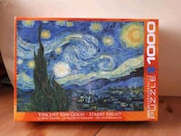 Vincent van Gogh - Starry Night - 1000 pc. puzzle