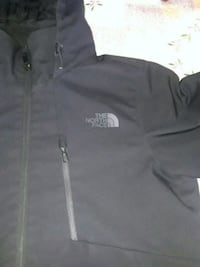 black The North Face zip-up jacket Redwood City, 94062