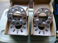 5x5.5 to 5x4.5 and 5x4.3/4. Wheel spacers