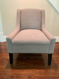 Slipper chair, gray Alexandria, 22308