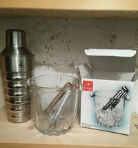 Martini Shaker and Ice Bucket 530 km