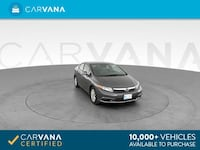 2012 Honda Civic sedan EX Sedan 4D Gray <br /> Gaithersburg