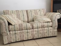 white and blue fabric 3-seat sofa Ocala, 34473