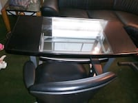 Glass desk and leather chair Lanham, 20706