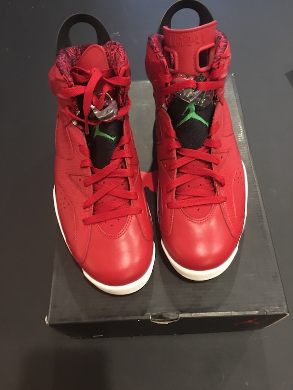 "29be5f9b14a6fe Used Retro Jordan 6 ""spizike"" size 9.5 deadstock 100% authentic for ..."