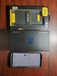 mint S8 64gb with new case, box and accessories. FIRM ON PRICE  Toronto, M1P